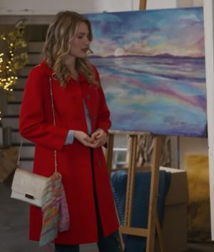 A Bridesmaid in Love Red Coat