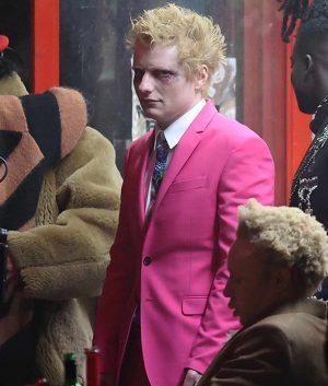Ed Sheeran Bad Habits Suit