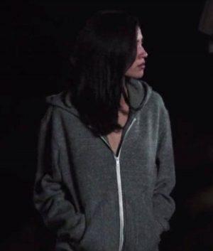 Kelsey Asbille Yellowstone Grey Hoodie Jacket