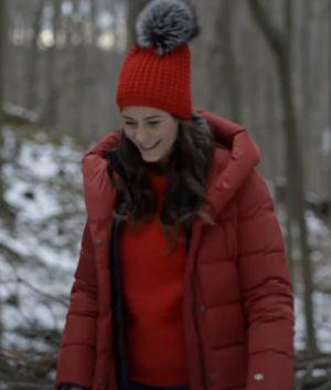 One Snowy Christmas Elysia Rotaru Red Coat