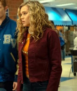 Stargirl Courtney Whitmore Maroon Jacket
