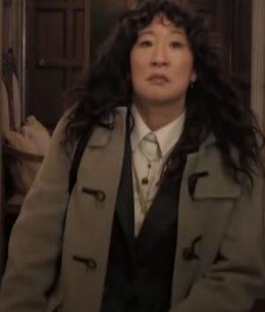 The Chair Sandra Oh Mid Length Coat