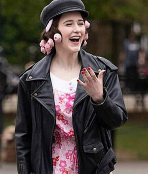 The Marvelous Mrs. Maisel S04 Miriam Maisel Leather Jacket