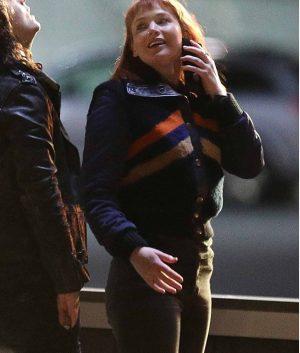 Don't Look Up Jennifer Lawrence Letterman Jacket