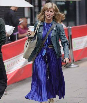 Kate Garraway Biker Jacket