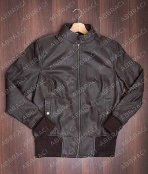 Katherine Pierce Leather Brown Jacket
